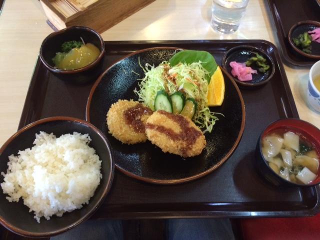 下仁田道の駅 食事