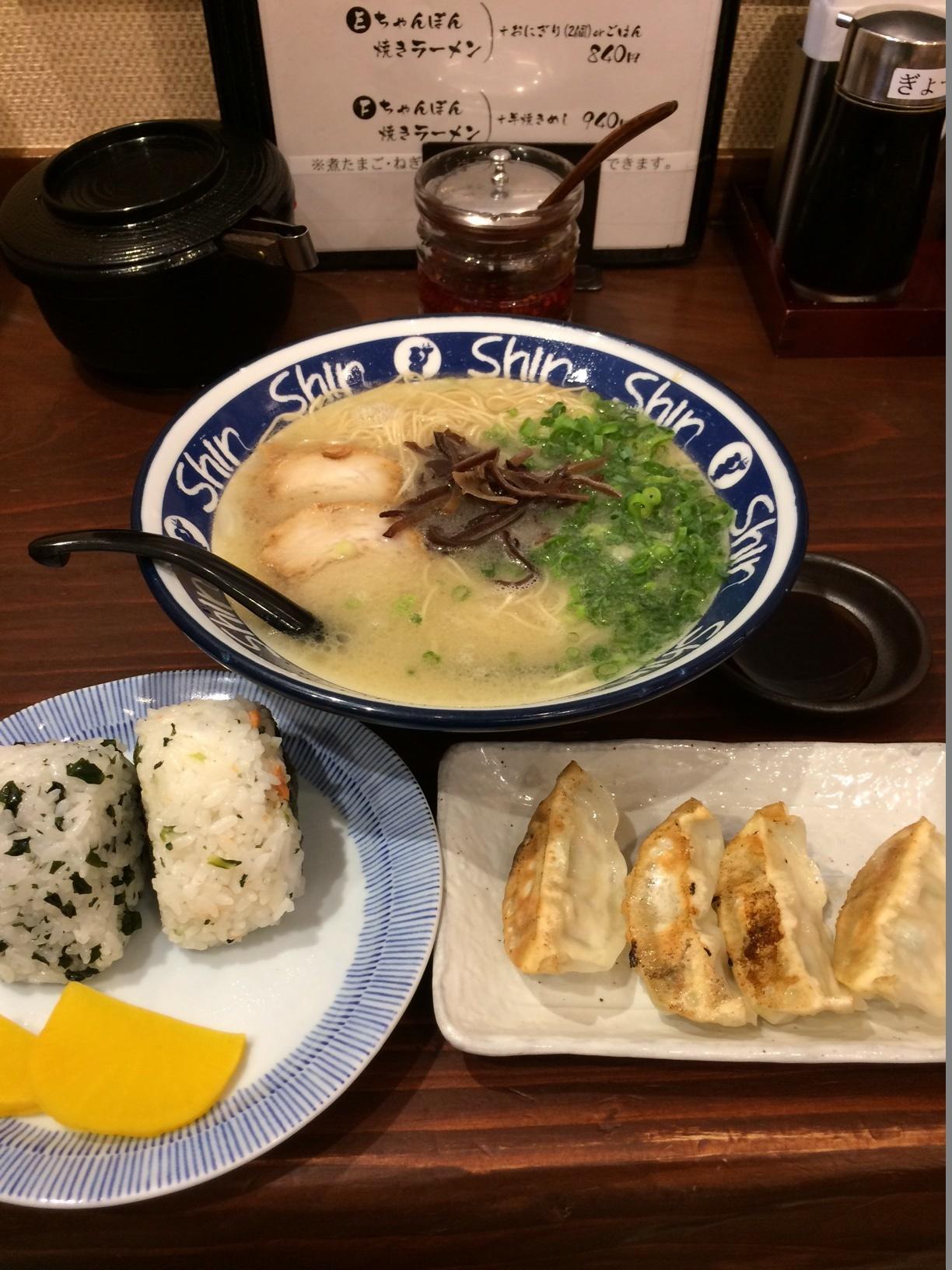 福岡_ラーメン_Shin Shin