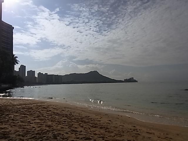 2日目 ワイキキビーチ